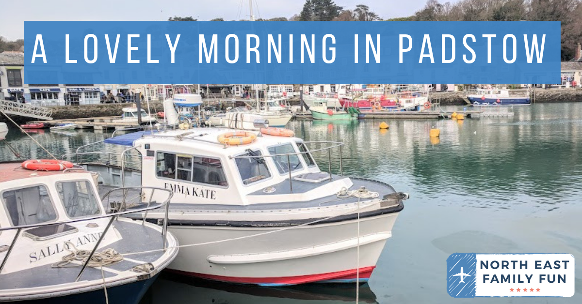 A Morning in Padstow : What to do with Kids