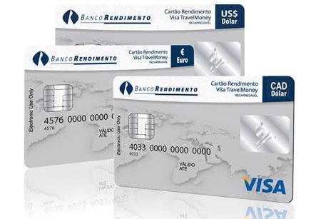 Dólar Canadense - Cartão pré pago