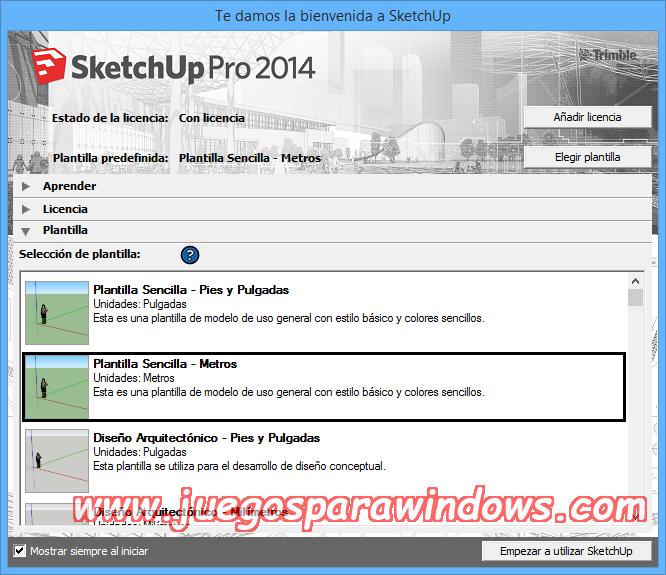 SketchUp Pro 2014 v14.1.1282 Full PC Descargar ESPAÑOL 7