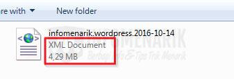 Cara Tutorial Berga Mudah Import Konten WordPress File XML Berukuran Besar (Split File XML)