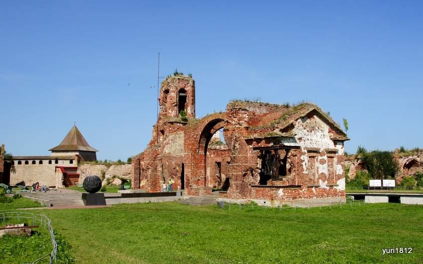 Разрушенная церковь Рождества Иоанна Предтечи. Иоанновский храм