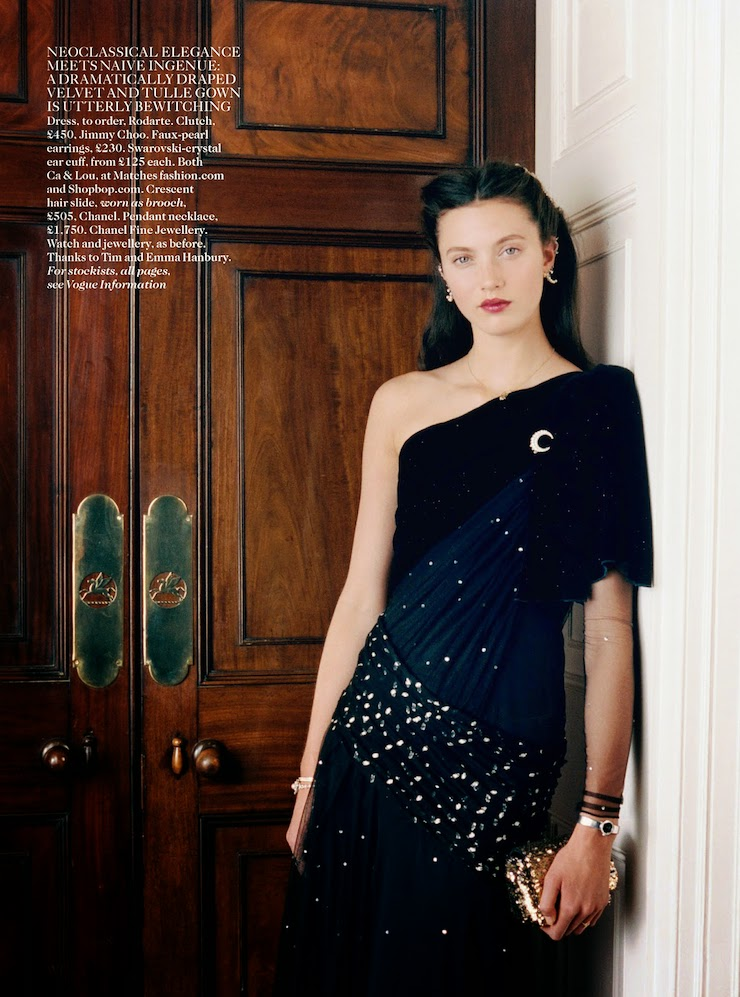 Halcyon Days by Venetia Scott for Vogue UK November 2014