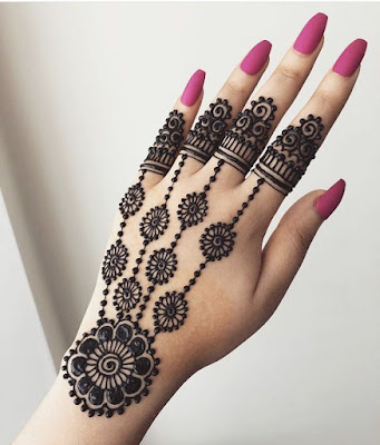 New Model Finger Mehndi Design 2019