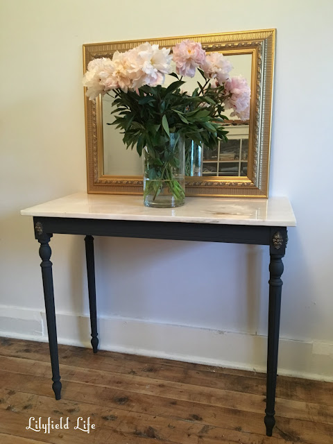 french style marble console Lilyfield Life