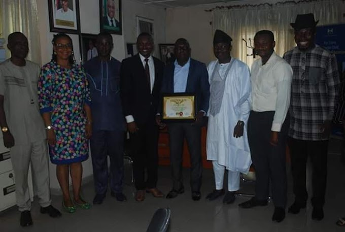 PAGGC AWARDS SUBEB BOSS, NAME HIM TOP TEN BEST PERFORMING APPOINTEE IN CRS