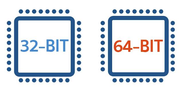 ما هو الفرق الحقيقى بين معالجات 64 بت و32 بت