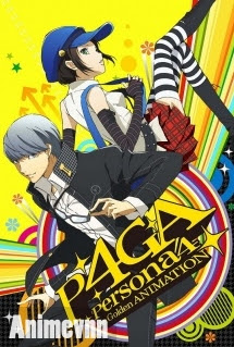 Persona 4 The Golden Animation - Persona 4 the Golden ANIMATION 2013 Poster