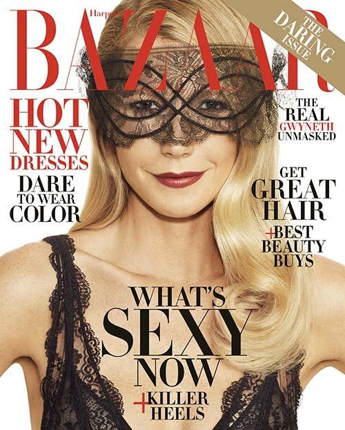 Gwyneth Paltrow : Harper's BAZAAR - Novembre 2016