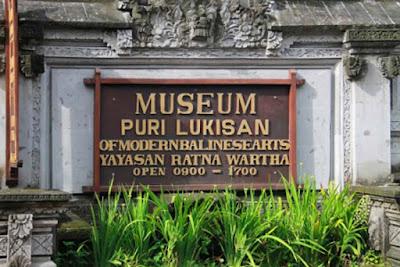 Museum Puri Lukisan Ubud Bali Indonesia jam buka