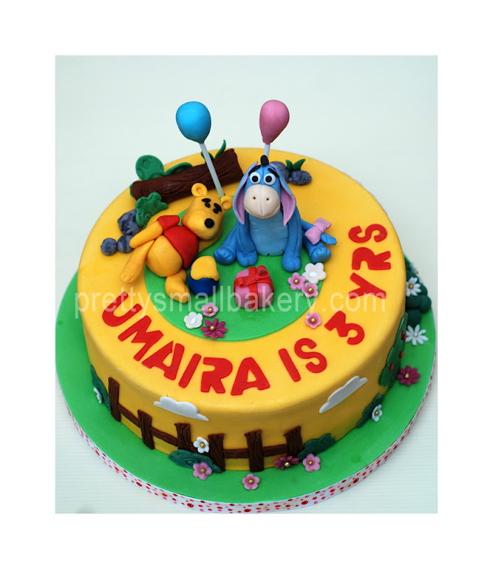 Kek Birthday Po Oh Pooh N Friends Utk Umaira Puchong