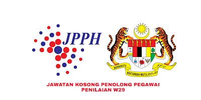 Permohonan Jawatan Kosong Penolong Pegawai Penilaian W29 2019