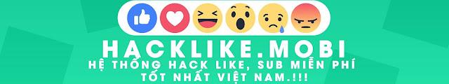 Hướng dẫn tăng Like và Follow facebook hoàn toàn miễn phí tại HackLike.Mobi