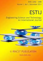 Engineering Science and Technology: An International Journal (ESTIJ)