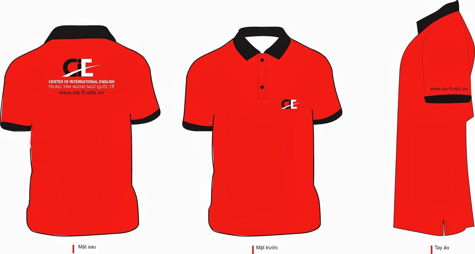 Hình ảnh Mẫu áo đồng phục công ty đơn giản đẹp