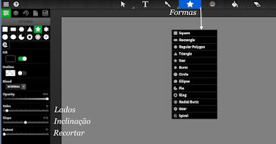 4 Sketchpad 3.7 - Inteface - Icons de Topo - Formas