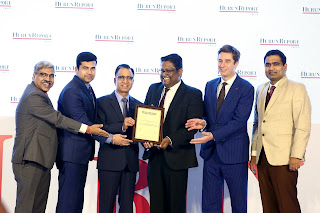 Kalyan Jewellers honoured with Hurun Industry Achievement Award 2018 in Jewellery category