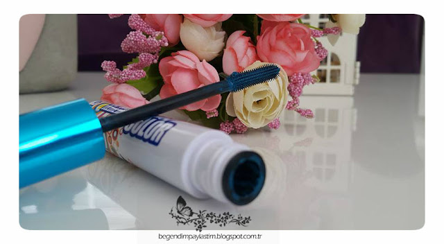 Pastel waterproof color volume mascara