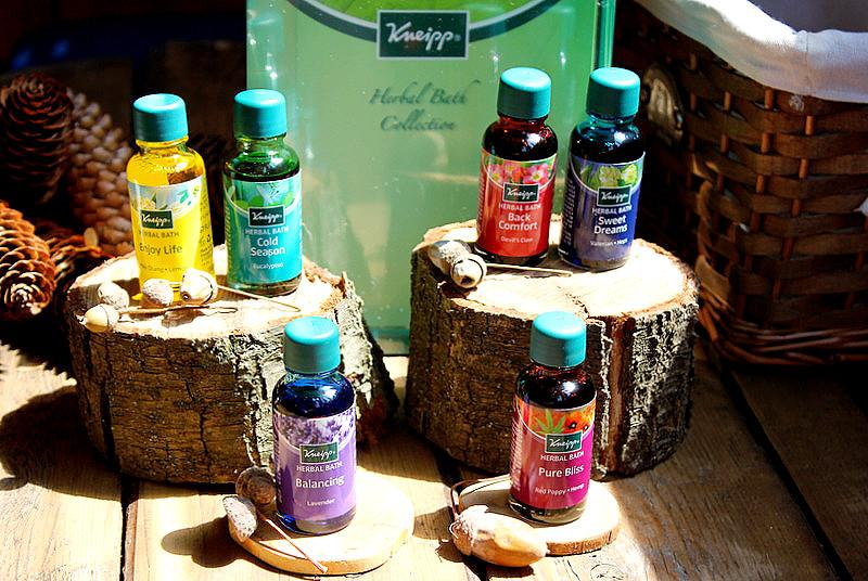 Масла для ванн от Кнайпп для хорошего самочувствия. KNEIPP Herbal Bath Set / отзывы