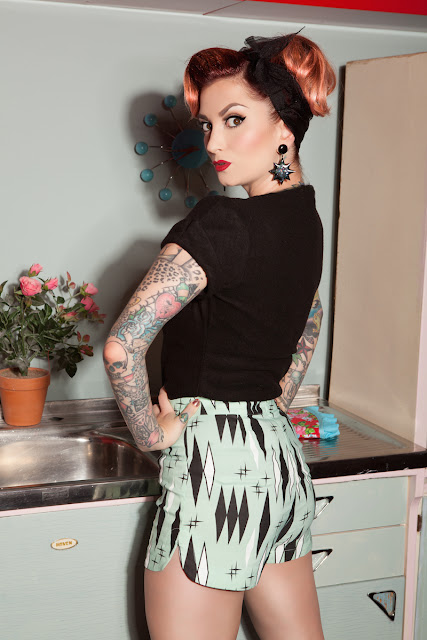 YouTuber Cherry Doll Face Talks Pinup fashion Tattoos And More
