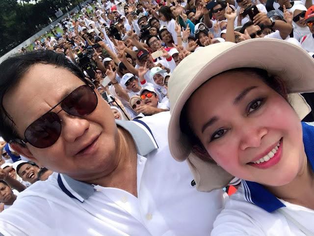 Emak-emak Militan Ingin Prabowo-Titiek Soeharto Rujuk