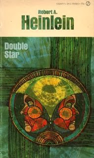 Cover of the novel Double Star by Robert A Heinlein