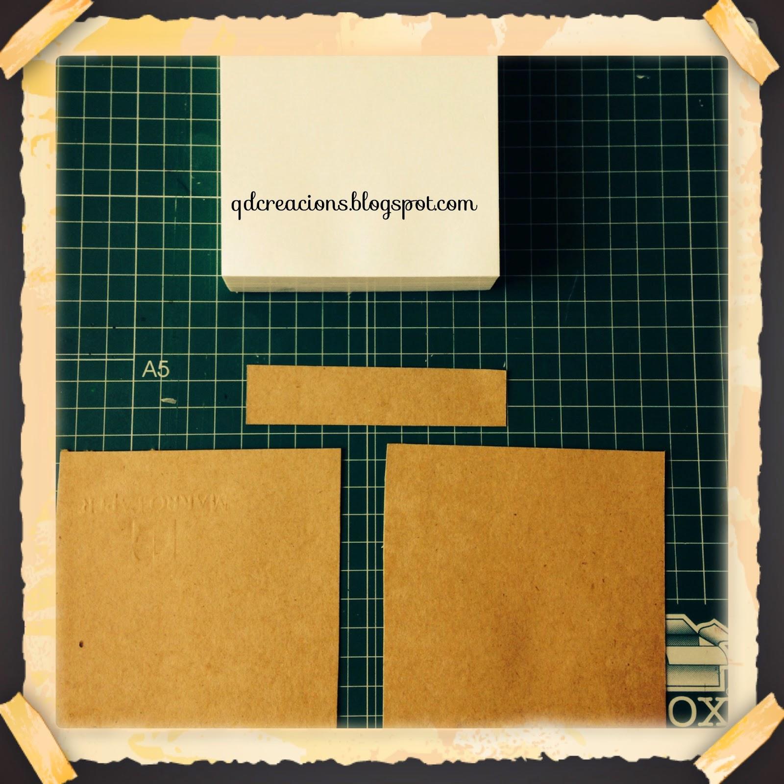 bloc en carton
