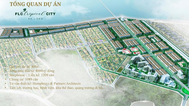 Phối cảnh FLC Tropical City Hạ Long