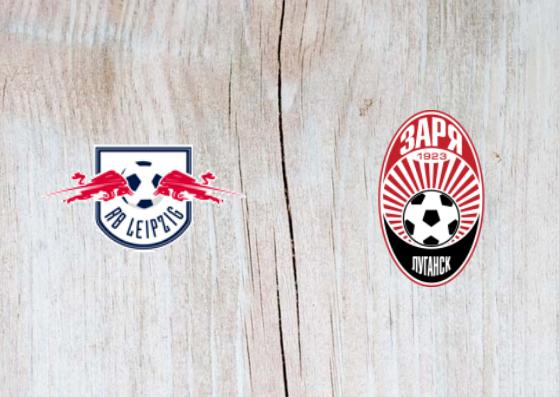 RB Leipzig vs Zorya - Highlights - 30 August 2018