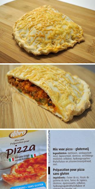 Filet Fodmap Hartige flap met pizzadeeg glutenvrij lactosevrij eivrij