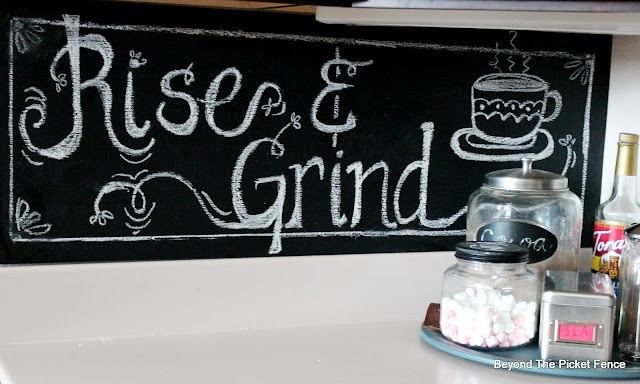 Easy Chalkboard Wall and How to Hand-Letter Chalkboard Signs