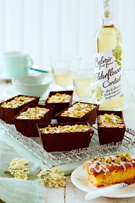 Gluten-free Mini Elderflower And Lemon Loaf Cakes