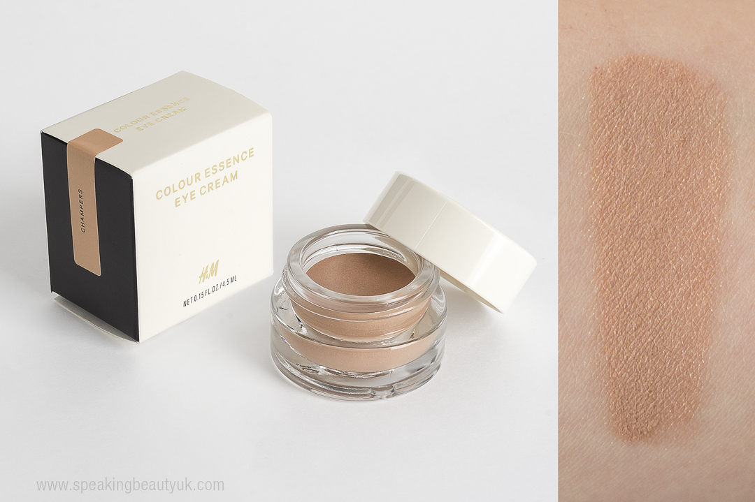 H&M Colour Essence Eye Cream in Champers