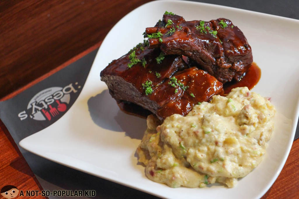 The tender and flavorful Barbecue Ribs of Besty's in Quezon City