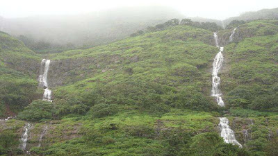 Tamhini Ghat Waterfalls at Kolad, Raigadh