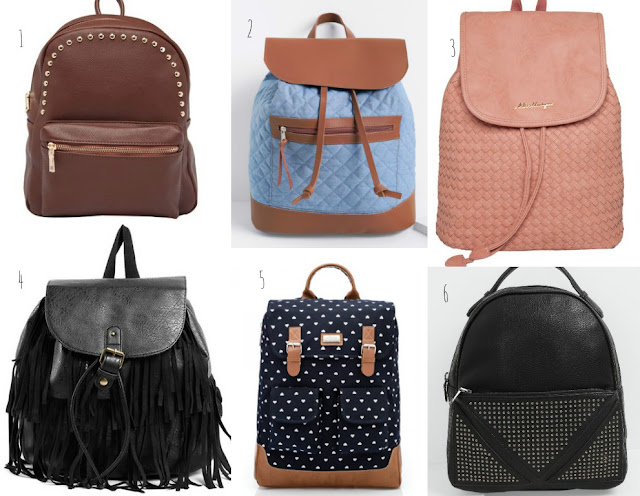 wish list mochilas