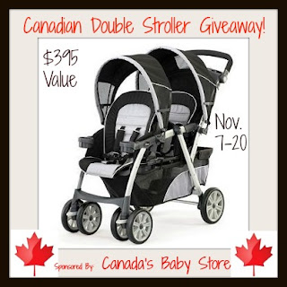 Chicco Cortina Together Double Tandem Stroller Giveaway
