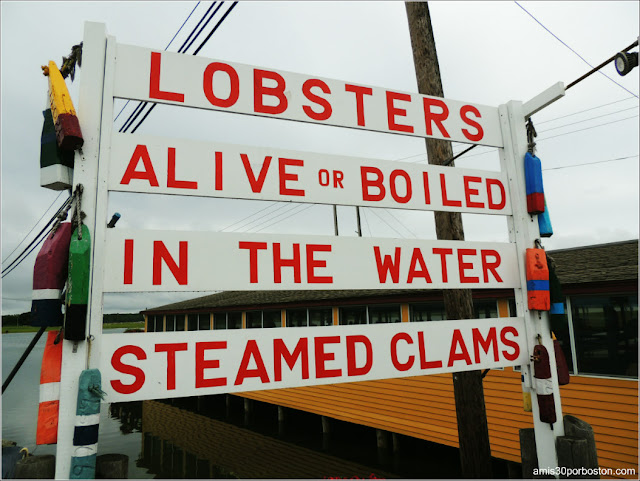 Brown's Lobster Pound, New Hampshire