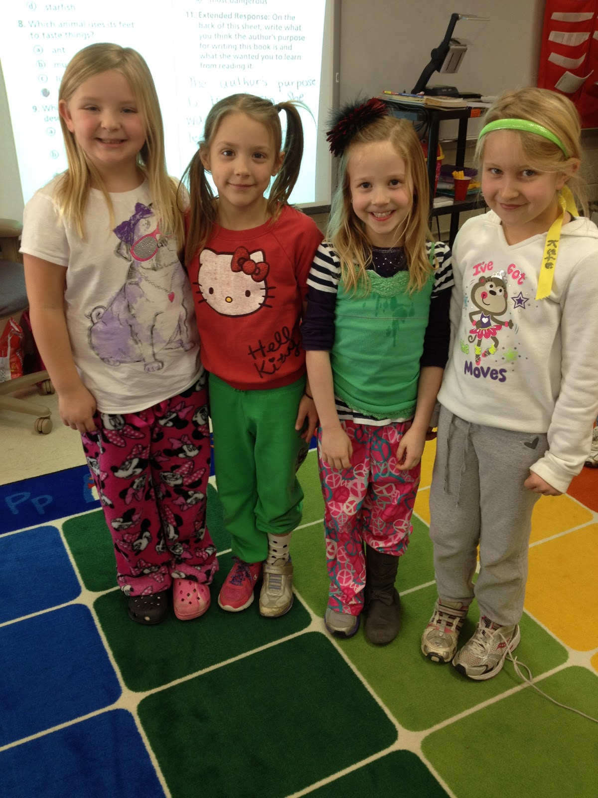 first grader at last mix and match day. Black Bedroom Furniture Sets. Home Design Ideas