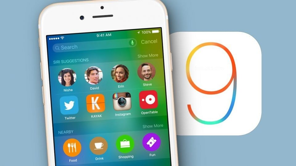 New Day Release, Apple IOS 9 ACHIEVE MORE THAN 10%