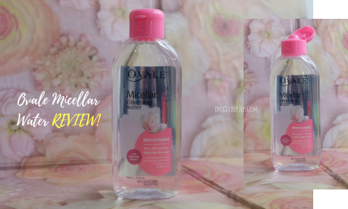 Ovale Micellar Cleansing Water Review