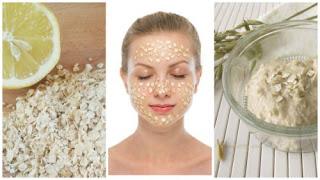 Éclaircir les taches de votre visage avec ce masque de farine d'avoine et de citron