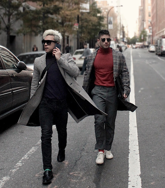 Viaje de Two Unknown Boys a New York