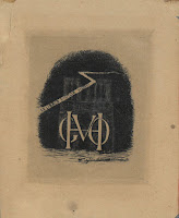 Victor Hugo's bookplate