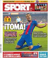 Portada Sport 30-10-2016