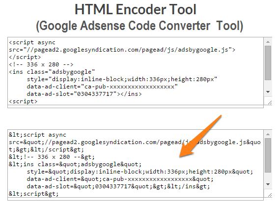 adsense-code-converter-tool