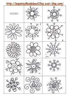 Fleurs graphiques GS