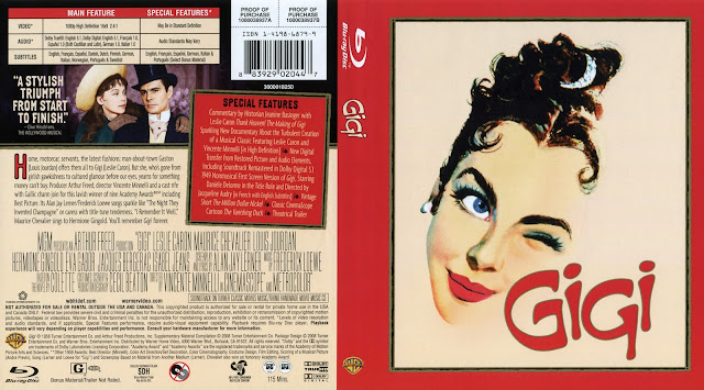 Gigi Bluray Cover