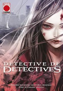 "Manga: Review de ""Detective de Detectives"" de Keisuke Matsuoka - Panini Comic"