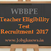 WBBPE TET Recruitment 2017 For Teachers (Primary) Jobs Vacancies Apply Now