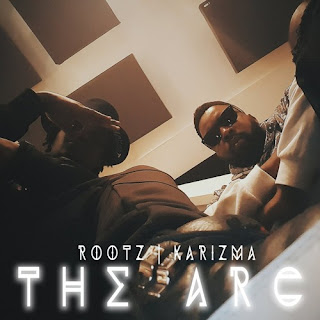 [feature]Rootz - The Arc (Feat. Karizma) with two black men looking down